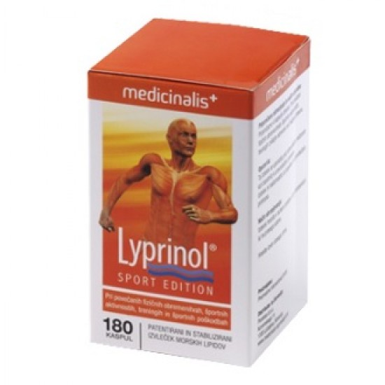 Lyprinol Sport Edition, kapsule Prehrana in dopolnila