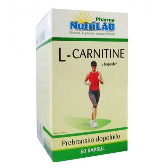 Nutrilab L Carnitine, kapsule Prehrana in dopolnila
