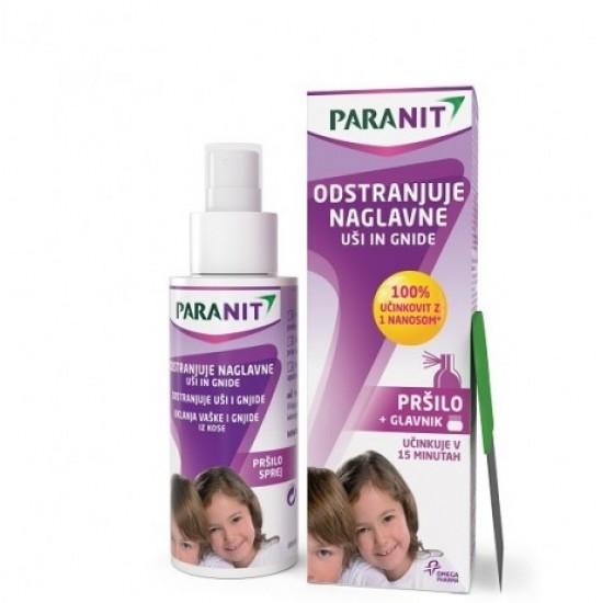 Paranit, losjon v pršilu za odstranjevanje naglavnih uši in gnid Kozmetika