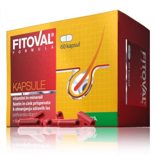 Fitoval formula, kapsule proti izpadanju las Prehrana in dopolnila