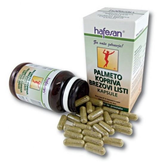 Hafesan Palmeto + Kopriva + Brezovi listi + Bučno seme, kapsule Prehrana in dopolnila