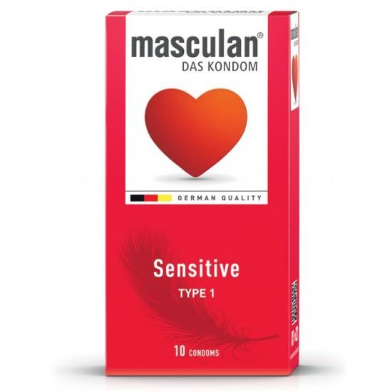 Masculan Type 1, 10 kondomov Spolnost in intimna nega