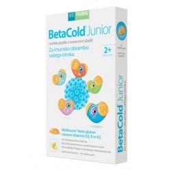 BetaCold junior, mehke pastile