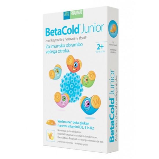 BetaCold junior, mehke pastile Prehrana in dopolnila