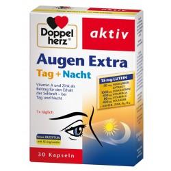 Doppelherz Aktiv Augen Extra dan + noč, kapsule