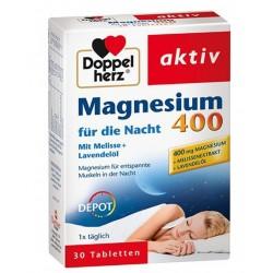 Doppelherz Aktiv Magnezij za Noč 400 Depo, tablete