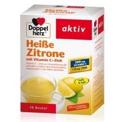 Doppelherz Aktiv vroči napitek limona, vrečke