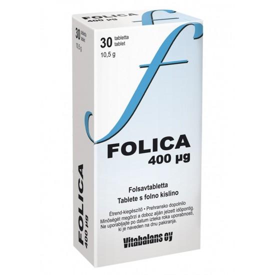 Folica 400 mcg, tablete Za Mamice in Nosečnice