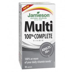 Jamieson MultiVitamini in Minerali za odrasle po 50. letu, tablete