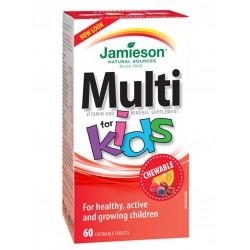 Jamieson MultiVitamini in minerali za otroke, bonboni
