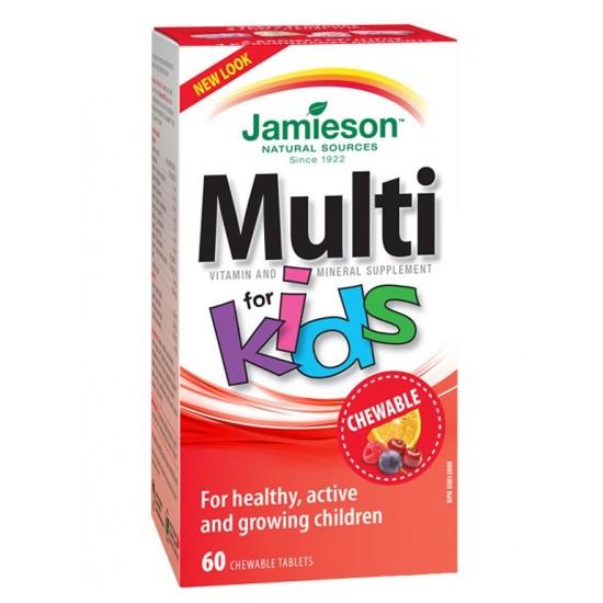 Jamieson MultiVitamini in minerali za otroke, bonboni Prehrana in dopolnila
