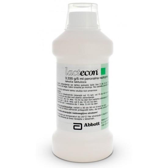 Lactecon, peroralna raztopina - 500 ml Zdravila brez recepta