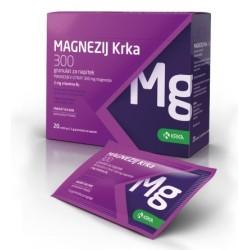 Magnezij Krka 300 granulat za napitek, 50 vrečk