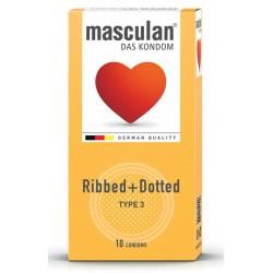 Masculan Type 3, 10 kondomi