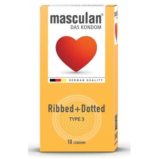 Masculan Type 3, 10 kondomi Pripomočki in zaščita
