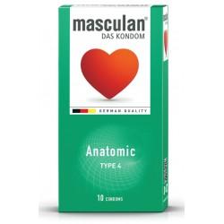 Masculan Type4, 10 kondomi