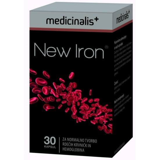 New Iron, kapsule Prehrana in dopolnila