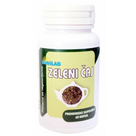 Nutrilab Zeleni čaj, kapsule Pripomočki in zaščita