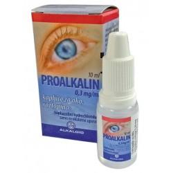 Proalkalin 0,3 mg/ml, kapljice za oko