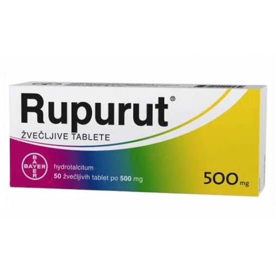 Rupurut, 50 žvečljivih tablet Zdravila brez recepta