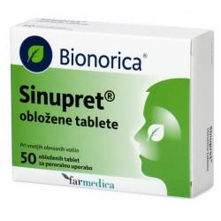 Sinupret, obložene tablete