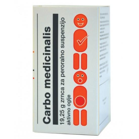 Carbo medicinalis, granule Zdravila brez recepta