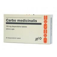 Carbo medicinalis, disperzibilne tablete
