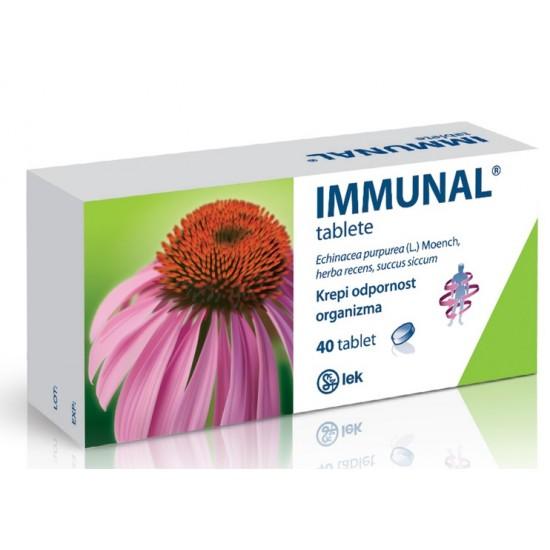 Immunal, tablete Zdravila brez recepta