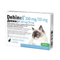 Dehinel 230mg/20 mg za mačke, tablete