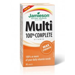Jamieson Multivitamini in minerali maksimalna moč, tablete