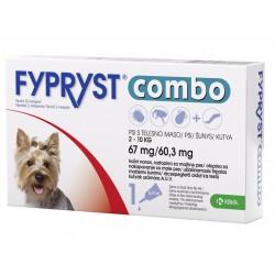 Fypryst Combo, kožni nanos za majhne pse (2-10 kg) - 10 pipet