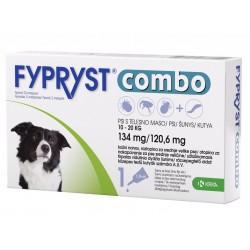 Fypryst Combo, kožni nanos za srednje velike pse (10-20 kg) - 3 pipete