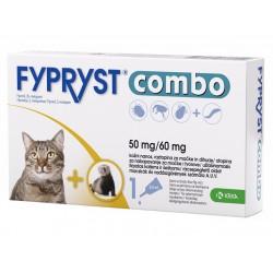 Fypryst Combo, kožni nanos za mačke in dihurje - 3 pipete