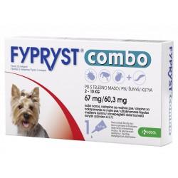 Fypryst Combo, kožni nanos za majhne pse (2-10 kg) - 3 pipete