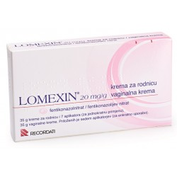 Lomexin 20mg/g, vaginalna krema