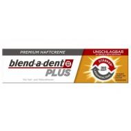 Blend-a-dent Premium Plus, krema za pritrditev zobne proteze - dvojna moč