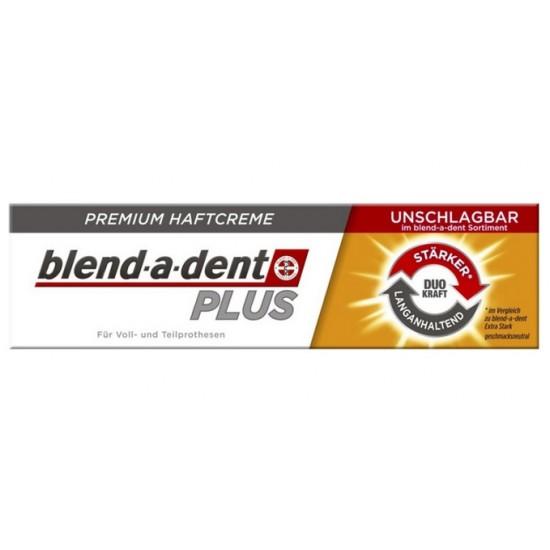 Blend-a-dent Premium Plus, krema za pritrditev zobne proteze - dvojna moč Pripomočki in zaščita