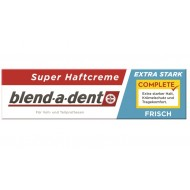 Blend-a-dent Super Frisch, krema za pritrditev zobne proteze - zelo sveža