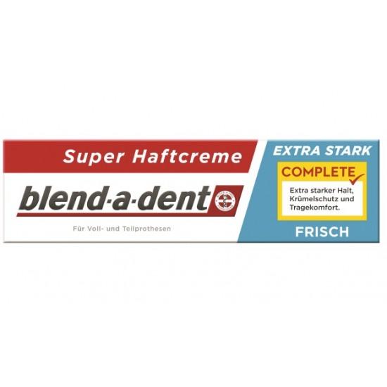 Blend-a-dent Super Frisch, krema za pritrditev zobne proteze - zelo sveža Pripomočki in zaščita