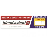Blend-a-dent Super Original, krema za pritrditev zobne proteze