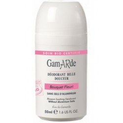 Gamarde, Deodorant roll-on s cvetličnim vonjem - 50 ml