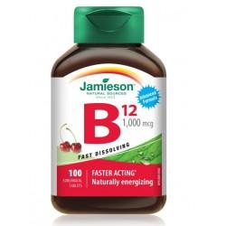 Jamieson Vitamin B12 1000 mcg, podjezične tablete