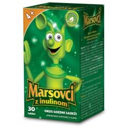 Marsovci, žvečljive tablete s prebiotiki okus gozdni sadeži