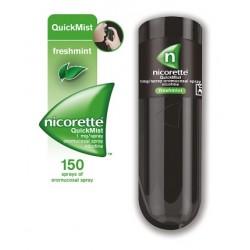 Nicorette 1 mg/odmerek oralno pršilo - raztopina, 13,2 ml