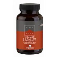 Terranova Vitamin B-kompleks z vitaminom C, 50 kapsul