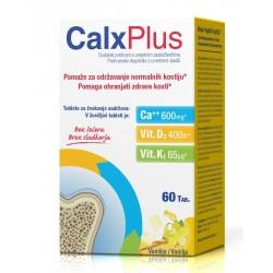 CalxPlus Vanilija, žvečljive tablete