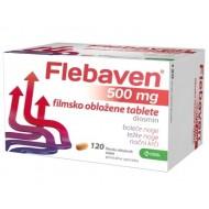 Flebaven 500 mg, 120 obloženih tablet