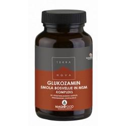 Terranova Glukozamin, smola bosvelije in Msm kompleks, kapsule