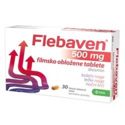 Flebaven 500 mg, 30 obloženih tablet