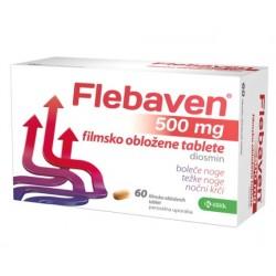 Flebaven 500 mg, 60 obloženih tablet
